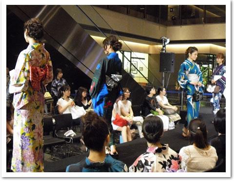 浴衣ファッションショー