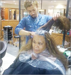 Hair demostration lessons