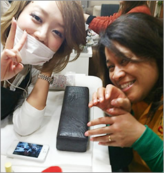 Nail demostration lessons