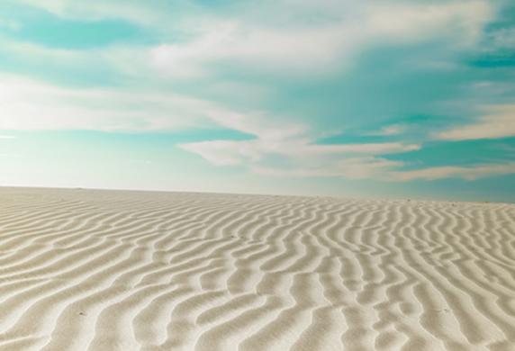 モロッコの厳しい乾燥